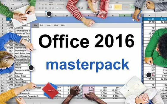 Pack 5 cursos online Office 2016