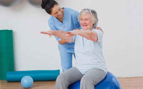 Curso de Fisioterapia y Rehabilitación en Mayores