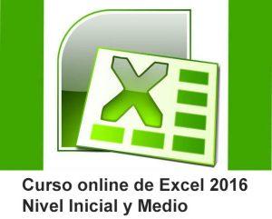Curso online de Excel 2016 básico