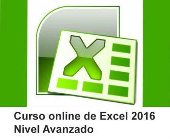Curso online de Excel 2016 Avanzado